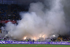 Ukrainian Premier League: Dynamo Kyiv v Shakhtar Stock Images
