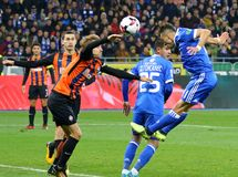 Ukrainian Premier League: Dynamo Kyiv vs Shakhtar Donetsk stock photography