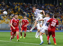 Ukrainian Premier League game FC Dynamo Kyiv vs Volyn Lutsk Royalty Free Stock Photo