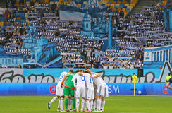 Ukrainian Premier League game FC Dynamo Kyiv vs Volyn Lutsk Royalty Free Stock Photography