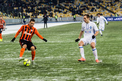 Ukrainian Premier League match Dynamo Kyiv - Shakhtar Donetsk, d royalty free stock images