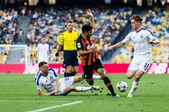 Ukrainian Premier League match Dynamo Kyiv - Shakhtar Donetsk, A stock photography