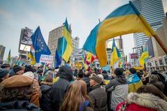Ukrainian protest Stock Photos