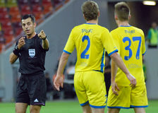 Ukrainian referee Yaroslav Kozyk Royalty Free Stock Photo