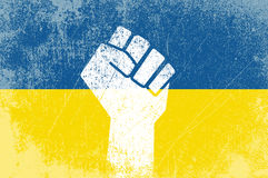 Ukrainian revolution Royalty Free Stock Photography