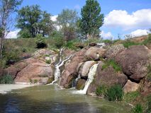 Ukrainian river Buky Stock Photos