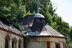 Ukrainian Ruined buildings Stock Photos
