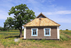 Ukrainian rural house Stock Photography