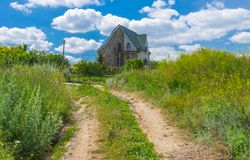 Ukrainian rural landscape Royalty Free Stock Images
