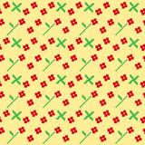 Ukrainian Seamless Pattern Stock Photos