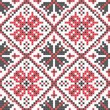 Ukrainian seamless vector texture Royalty Free Stock Photos