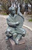 Ukrainian singer. Statue in Winnipeg City, Manitoba province, Canada. The photo was taken in November 2013 Stock Photo