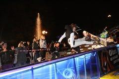 Ukrainian snowboarding championship Royalty Free Stock Images
