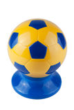 Ukrainian Soccer ball Stock Photos