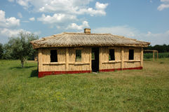 Ukrainian stare krajowy dom Fotografia Stock