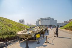 The Ukrainian State Museum of the Great Patriotic War Royalty Free Stock Image