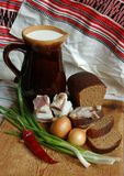 The Ukrainian still-life Royalty Free Stock Images