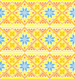 Ukrainian style background Stock Photography
