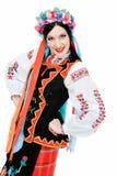 In ukrainian suit Stock Photos