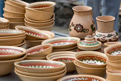 Ukrainian tableware. Traditional Ukrainian tableware / Kiev 10 Stock Photography