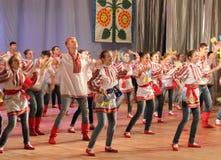 Ukrainian talented children Stock Images