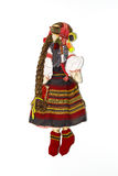 Ukrainian traditional doll hanging on the wall Stock Photography