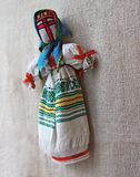 Ukrainian traditional dolls Stock Photo