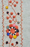 Ukrainian traditional embroidery Royalty Free Stock Image