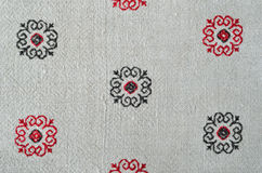 Ukrainian traditional embroidery Stock Photography