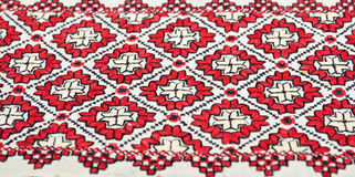 Ukrainian traditional embroidery Royalty Free Stock Photo