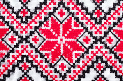 Ukrainian traditional embroidery patterns Stock Images