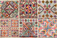 Ukrainian traditional embroidery Royalty Free Stock Photos