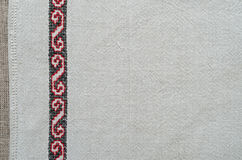 Ukrainian traditional embroidery Royalty Free Stock Images