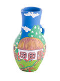 Ukrainian traditional pottery ceramics Stock Photos