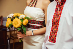 Ukrainian traditional wedding stock photography