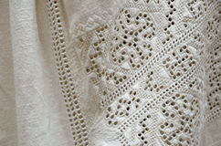Ukrainian traditional whitework embroidery Royalty Free Stock Image