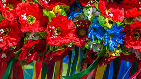 Ukrainian traditional wreath Royalty Free Stock Images