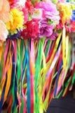 Ukrainian traditional wreaths Royalty Free Stock Photos