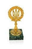 Ukrainian trident Royalty Free Stock Images