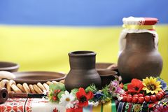 Ukrainian utensils Stock Image