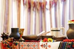 Ukrainian utensils Stock Photo