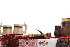 Ukrainian utensils Stock Image
