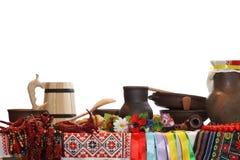 Ukrainian utensils Royalty Free Stock Photos
