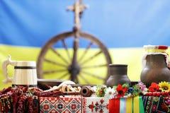 Ukrainian utensils Royalty Free Stock Photography