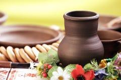 Ukrainian utensils Royalty Free Stock Image