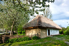 Ukrainian village Stock Image