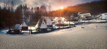 Ukrainian village Stock Images