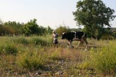 Ukrainian village Royalty Free Stock Images