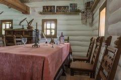 Ukrainian vintage interior Stock Photography
