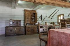 Ukrainian vintage interior Royalty Free Stock Photo